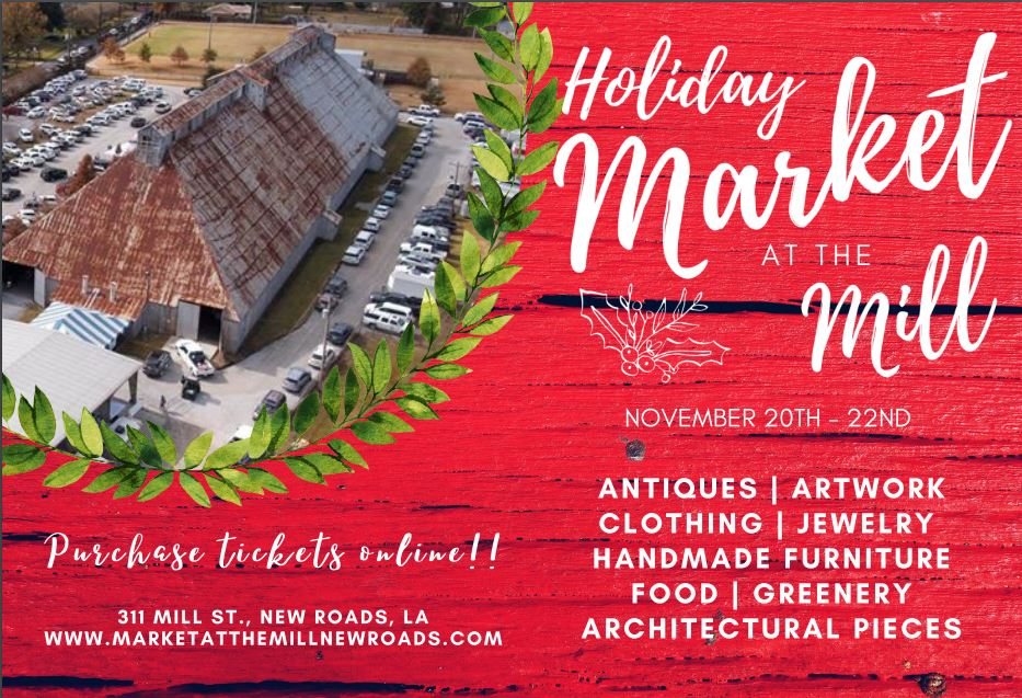 Tis the Season for New Roads Annual Holiday Market at the Mill