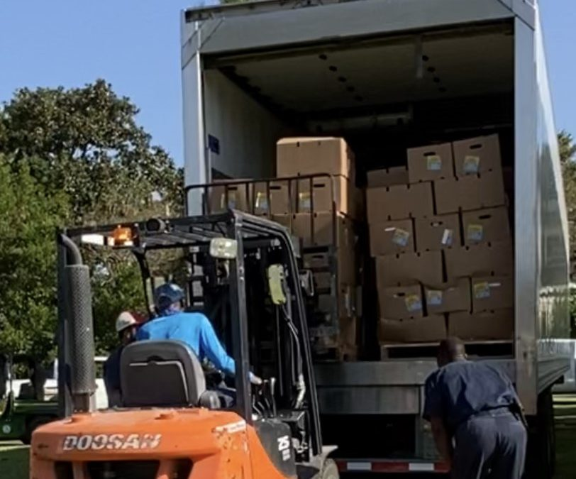 CITY OF NEW ROADS HURRICANE DELTA FOOD RELIEF DRIVE