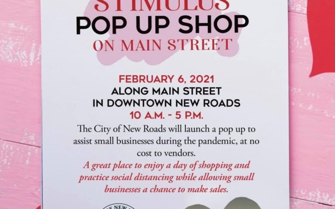 POSTPONED: Stimulus Pop Up Shop on Main Street