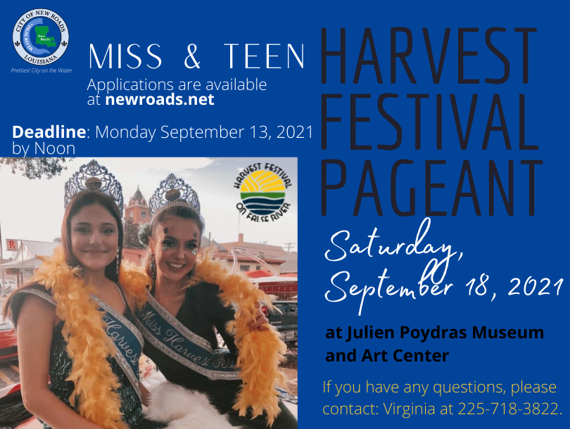 Harvest Festival Queens Pageant